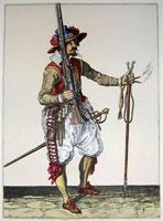 tn 004 - Musztra strzelecka wg Jacoba de Gheyna
