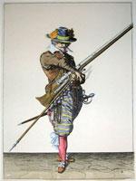 tn 006 - Musztra strzelecka wg Jacoba de Gheyna
