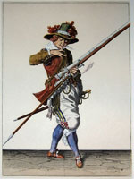 tn 007 - Musztra strzelecka wg Jacoba de Gheyna