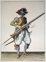 tn 008 - Musztra strzelecka wg Jacoba de Gheyna