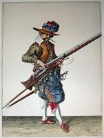 tn 009 - Musztra strzelecka wg Jacoba de Gheyna