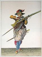 tn 010 - Musztra strzelecka wg Jacoba de Gheyna