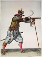 tn 012 - Musztra strzelecka wg Jacoba de Gheyna