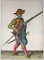 tn 013 - Musztra strzelecka wg Jacoba de Gheyna