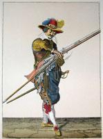 tn 015 - Musztra strzelecka wg Jacoba de Gheyna