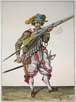 tn 016 - Musztra strzelecka wg Jacoba de Gheyna