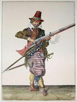 tn 018 - Musztra strzelecka wg Jacoba de Gheyna