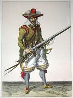 tn 019 - Musztra strzelecka wg Jacoba de Gheyna
