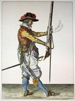 tn 021 - Musztra strzelecka wg Jacoba de Gheyna