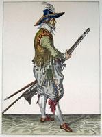 tn 022 - Musztra strzelecka wg Jacoba de Gheyna