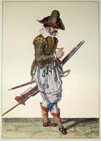 tn 023 - Musztra strzelecka wg Jacoba de Gheyna