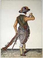 tn 024 - Musztra strzelecka wg Jacoba de Gheyna