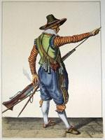 tn 025 - Musztra strzelecka wg Jacoba de Gheyna