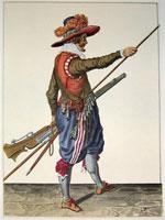 tn 026 - Musztra strzelecka wg Jacoba de Gheyna