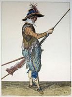 tn 027 - Musztra strzelecka wg Jacoba de Gheyna