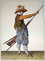 tn 028 - Musztra strzelecka wg Jacoba de Gheyna