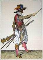 tn 029 - Musztra strzelecka wg Jacoba de Gheyna