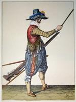 tn 030 - Musztra strzelecka wg Jacoba de Gheyna