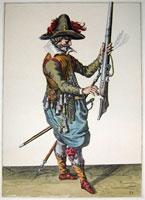 tn 031 - Musztra strzelecka wg Jacoba de Gheyna