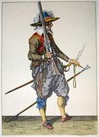 tn 032 - Musztra strzelecka wg Jacoba de Gheyna