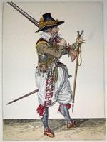 tn 033 - Musztra strzelecka wg Jacoba de Gheyna