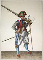 tn 034 - Musztra strzelecka wg Jacoba de Gheyna
