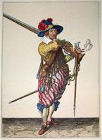 tn 035 - Musztra strzelecka wg Jacoba de Gheyna
