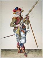 tn 036 - Musztra strzelecka wg Jacoba de Gheyna