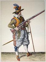 tn 037 - Musztra strzelecka wg Jacoba de Gheyna