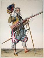 tn 038 - Musztra strzelecka wg Jacoba de Gheyna