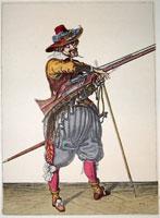 tn 039 - Musztra strzelecka wg Jacoba de Gheyna