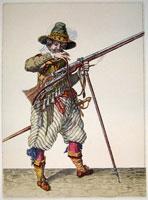 tn 040 - Musztra strzelecka wg Jacoba de Gheyna