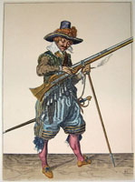 tn 041 - Musztra strzelecka wg Jacoba de Gheyna