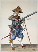 tn 042 - Musztra strzelecka wg Jacoba de Gheyna