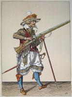 tn 043 - Musztra strzelecka wg Jacoba de Gheyna